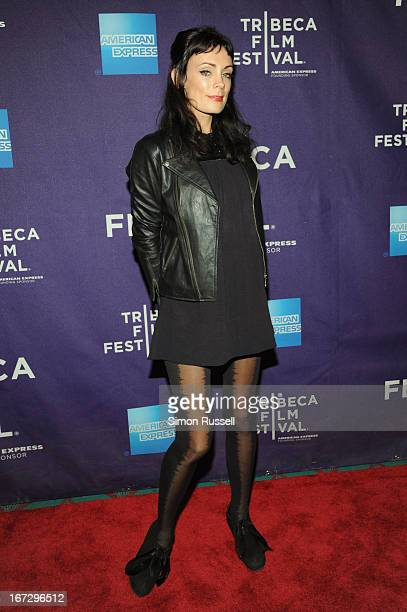 Actress Kate Elliott attends the 'Fresh Meat' New York screening during the 2013 Tribeca Film Festival on April 23 2013 in New York City