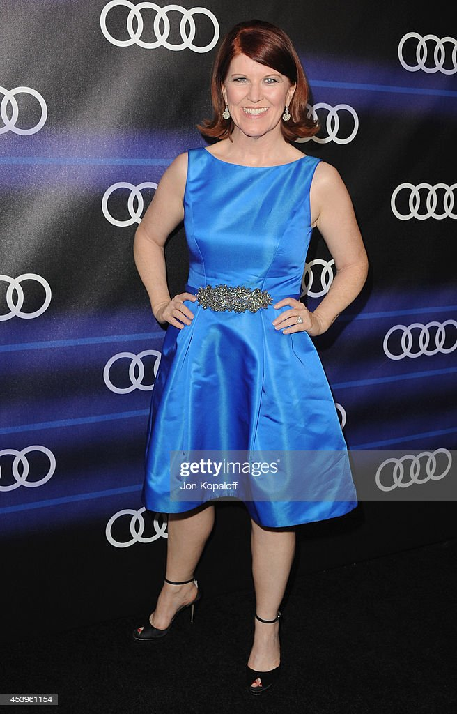 Actress Kate Flannery arrives at Audi Emmy Week Celebration at Cecconi's Restaurant on August 21, 2014 in Los Angeles, California.