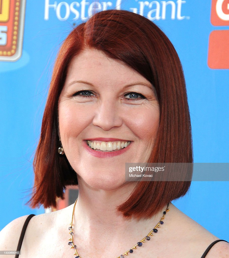 Actress <a gi-track='captionPersonalityLinkClicked' href=/galleries/search?phrase=Kate+Flannery&family=editorial&specificpeople=580714 ng-click='$event.stopPropagation()'>Kate Flannery</a> arrives at the GSN's 1st Annual Game Show Awards at the Wilshire Theatre Beverly Hills on May 16, 2009 in Beverly Hills, California.