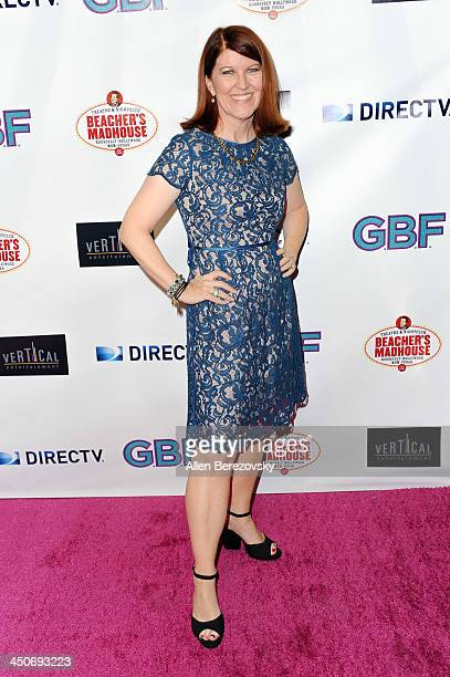 Actress Kate Flannery arrives at the Los Angeles premiere of 'GBF' at Chinese 6 Theater in Hollywood on November 19 2013 in Hollywood California