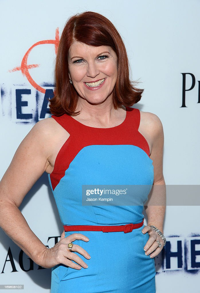 Actress Kate Flannery arrives at the premiere of Fox Searchlight Pictures' 'The East' presented by Piaget at ArcLight Hollywood on May 28, 2013 in Hollywood, California.