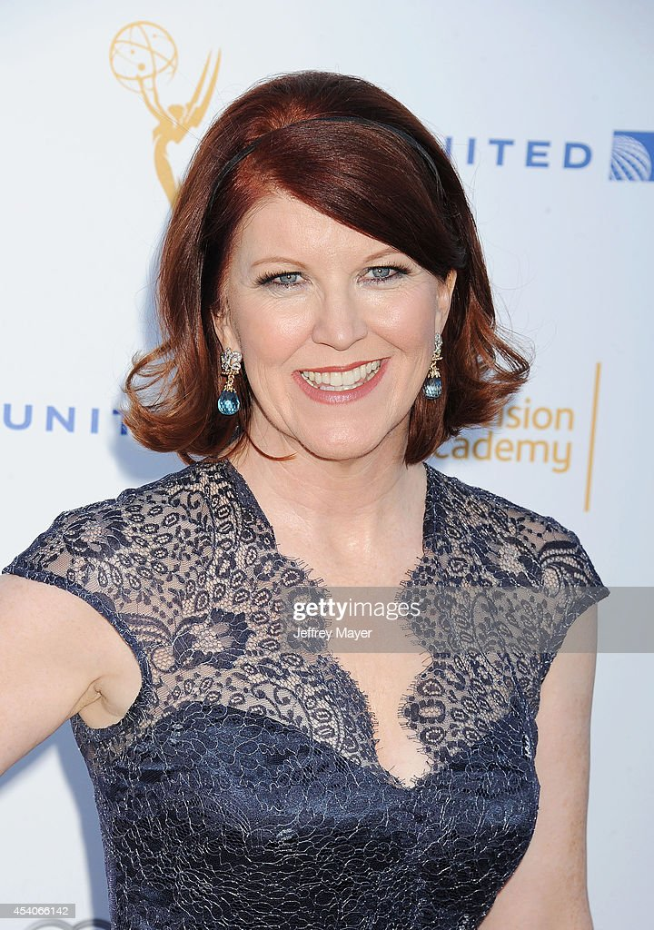 Actress Kate Flannery arrives at the Television Academy's 66th Emmy Awards Performance Nominee Reception at the Pacific Design Center on Saturday, Aug. 23, 2014, in West Hollywood, California.