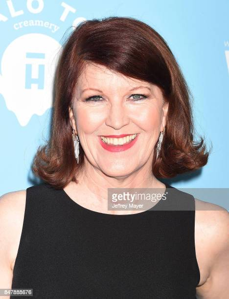 Actress Kate Flannery arrives at the Variety And Women In Film's 2017 PreEmmy Celebration at Gracias Madre on September 15 2017 in West Hollywood...