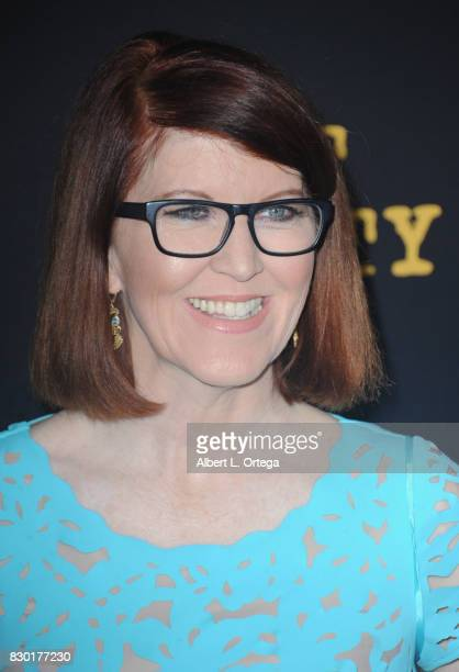 Actress Kate Flannery arrives for the Red Carpet Premiere of EPIX Original Series 'Get Shorty' held at Pacfic Design Center on August 10 2017 in West...
