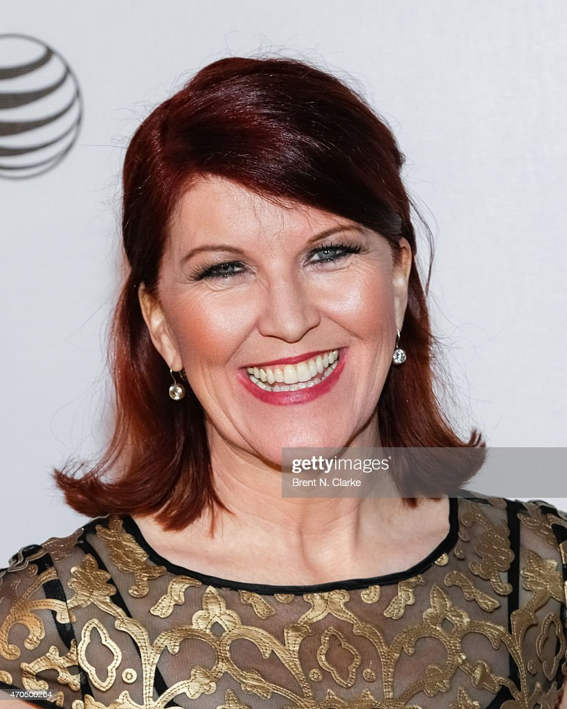 Actress Kate Flannery arrives for the World Premiere Narrative: 'Slow Learners' during the 2015 Tribeca Film Festival held at Regal Battery Park 11 on April 20, 2015 in New York City.