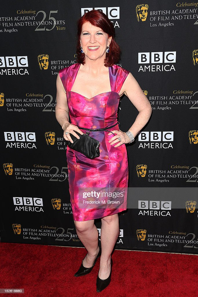 Actress Kate Flannery attends BAFTA LA TV Tea 2012 Presented By BBC America at The London Hotel Hollywood on September 22, 2012 in West Hollywood, California.