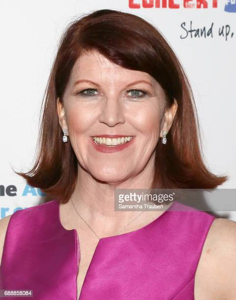 Actress Kate Flannery attends Concert for America Stand Up Sing Out at Royce Hall on May 24 2017 in Los Angeles California Photo by Samantha...