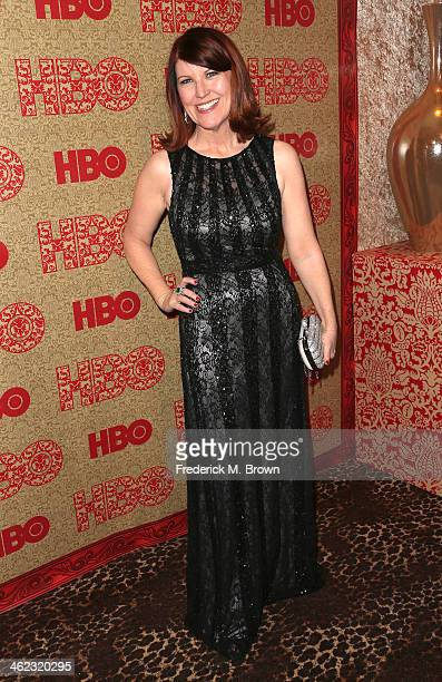 Actress Kate Flannery attends HBO's Post 2014 Golden Globe Awards Party held at Circa 55 Restaurant on January 12 2014 in Los Angeles California
