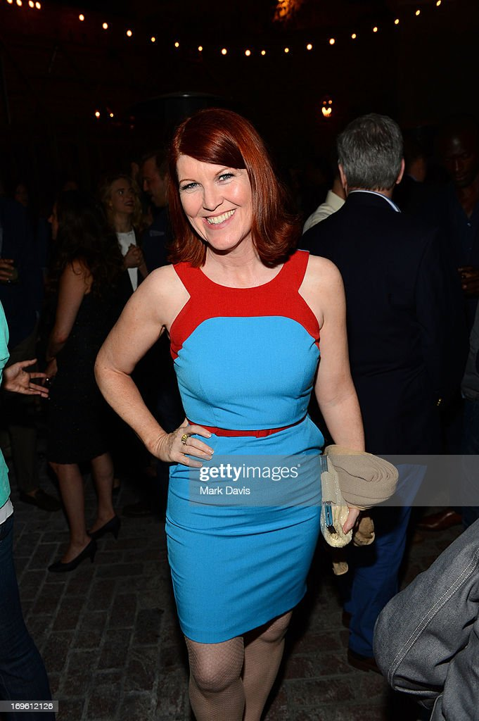 Actress <a gi-track='captionPersonalityLinkClicked' href=/galleries/search?phrase=Kate+Flannery&family=editorial&specificpeople=580714 ng-click='$event.stopPropagation()'>Kate Flannery</a> attends the after party of Fox Searchlight Pictures' 'The East' presented by Piaget at ArcLight Hollywood on May 28, 2013 in Hollywood, California.