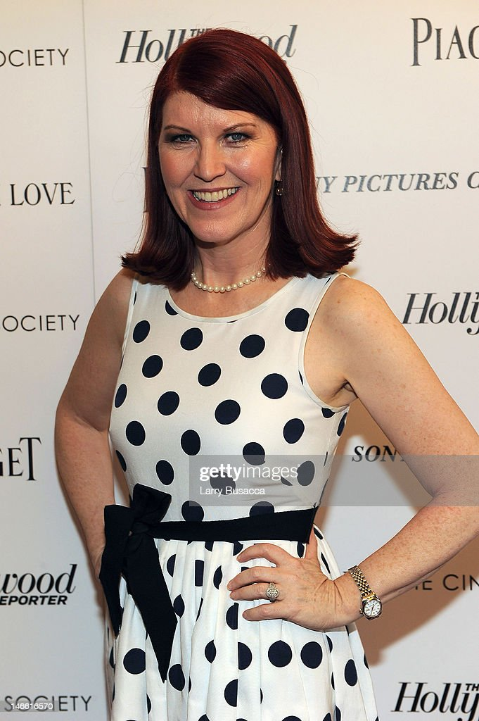 Actress Kate Flannery attends the Cinema Society with The Hollywood Reporter & Piaget and Disaronno special screening of 'To Rome With Love' at the Paris Theatre on June 20, 2012 in New York City.