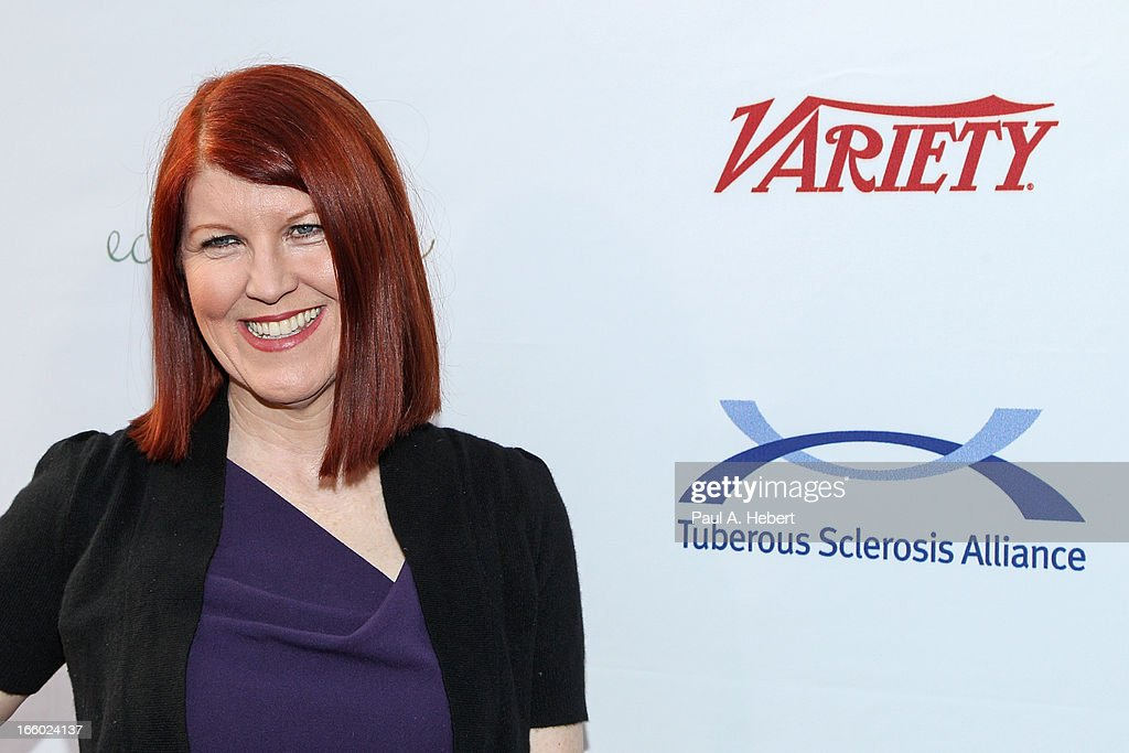 Actress Kate Flannery attends the Comedy for a Cure benefit held at Lure on April 7, 2013 in Hollywood, California.