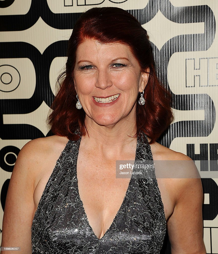 Actress Kate Flannery attends the HBO after party at the 70th annual Golden Globe Awards at Circa 55 restaurant at the Beverly Hilton Hotel on January 13, 2013 in Los Angeles, California.