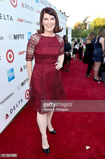 Actress Kate Flannery attends the MPTF 95th anniversary celebration with 'Hollywood's Night Under The Stars' at MPTF Wasserman Campus on October 1...