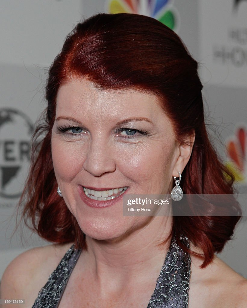 Actress Kate Flannery attends the NBC/Universal/Focus Features/E! Networks Golden Globe Awards Celebration Designed And Produced By Angel City Designs at The Beverly Hilton Hotel on January 13, 2013 in Beverly Hills, California.