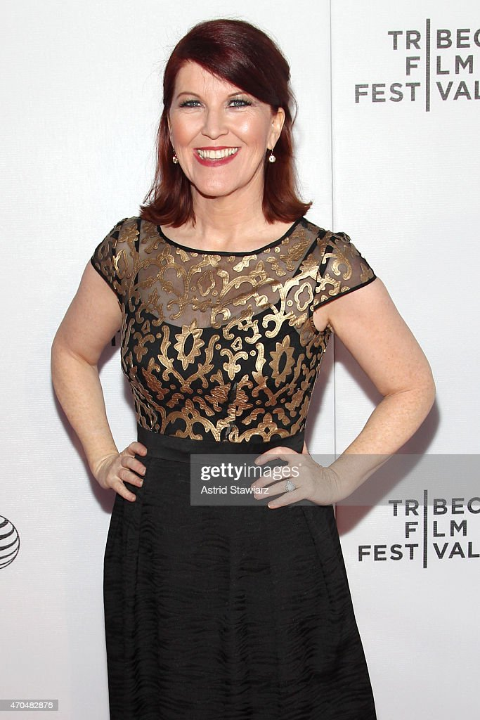 Actress Kate Flannery attends the premiere of 'Slow Learners' during the 2015 Tribeca Film Festival at Spring Studio on April 20, 2015 in New York City.