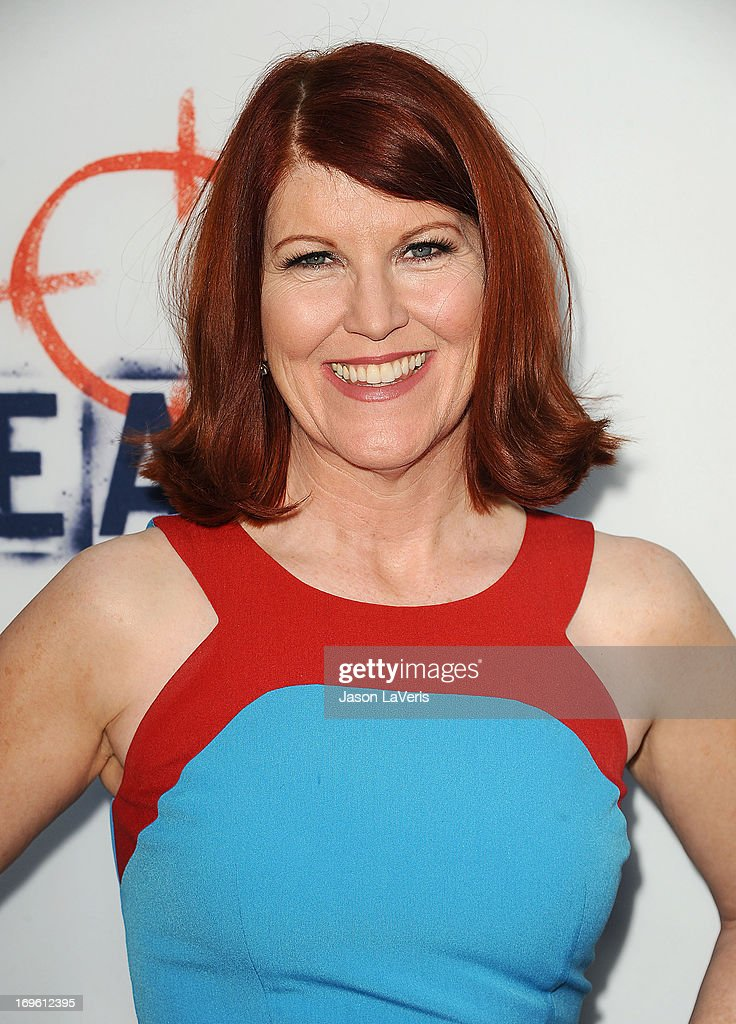 Actress Kate Flannery attends the premiere of 'The East' at ArcLight Hollywood on May 28, 2013 in Hollywood, California.