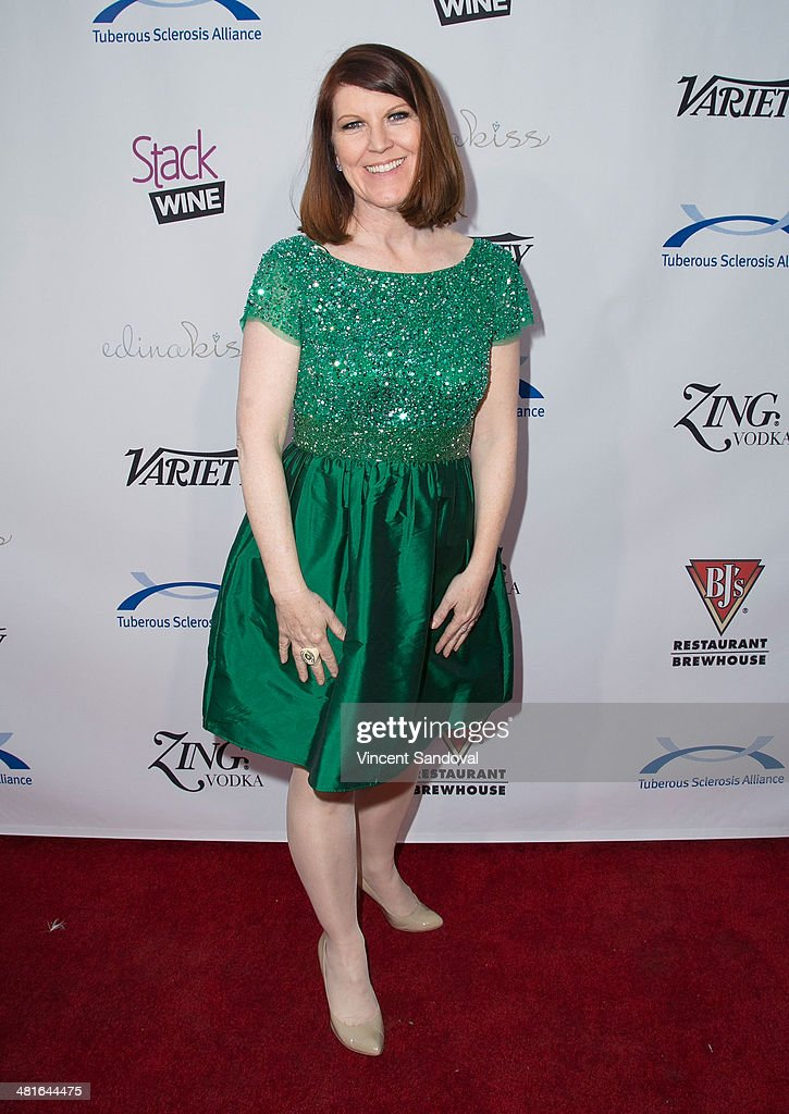 Actress <a gi-track='captionPersonalityLinkClicked' href=/galleries/search?phrase=Kate+Flannery&family=editorial&specificpeople=580714 ng-click='$event.stopPropagation()'>Kate Flannery</a> attends the Tuberous Sclerosis Alliance's Comedy For A Cure benefit at Lure on March 30, 2014 in Hollywood, California.