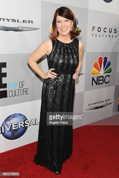 Actress Kate Flannery attends the Universal NBC Focus Features E sponsored by Chrysler viewing and after party with Gold Meets Golden held at The...