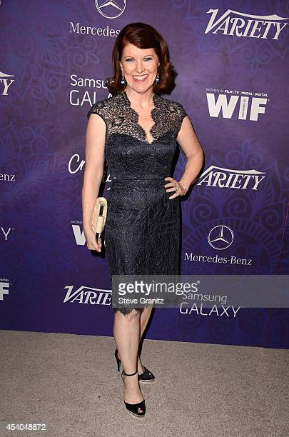 Actress Kate Flannery attends Variety and Women in Film Annual PreEmmy Celebration at Gracias Madre on August 23 2014 in West Hollywood California