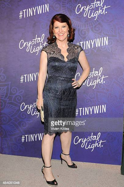 Actress Kate Flannery attends Variety and Women in Film Emmy Nominee Celebration powered by Samsung Galaxy on August 23 2014 in West Hollywood...