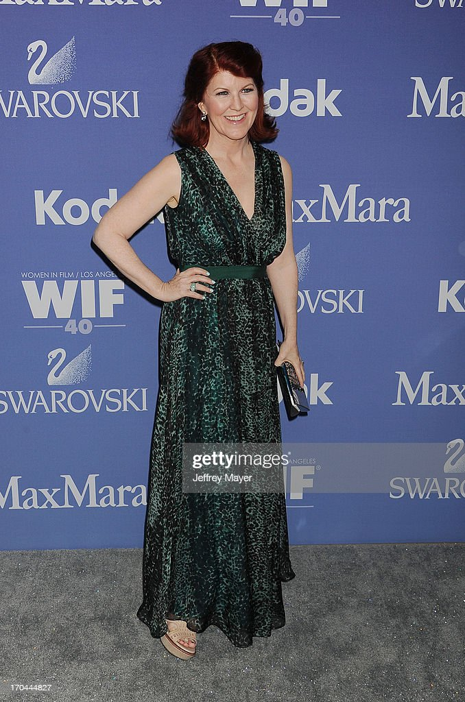 Actress Kate Flannery attends Women In Film's 2013 Crystal + Lucy Awards at The Beverly Hilton Hotel on June 12, 2013 in Beverly Hills, California.
