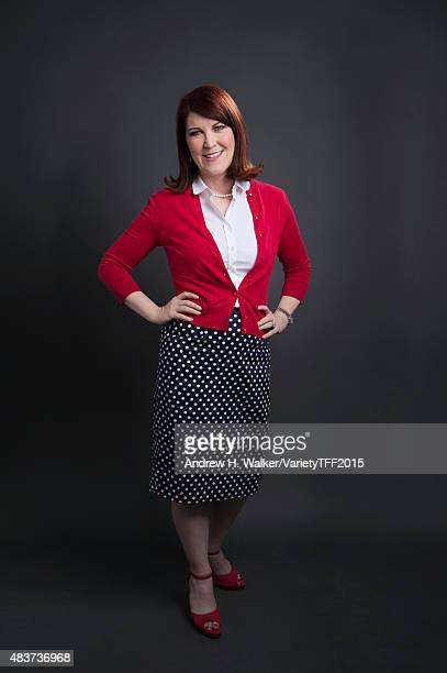 Actress Kate Flannery is photographed for Variety at the Tribeca Film Festival on April 18 2015 in New York City