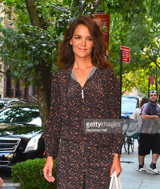 Actress Kate Homles is seen in Modtown on August 16 2017 in New York City