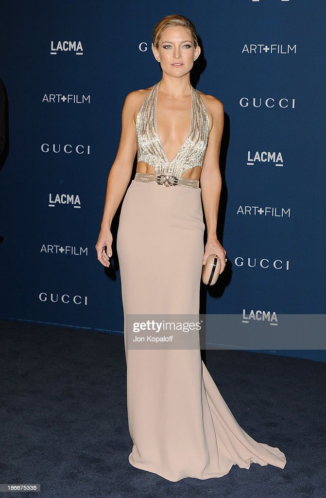 Actress <a gi-track='captionPersonalityLinkClicked' href=/galleries/search?phrase=Kate+Hudson&family=editorial&specificpeople=156407 ng-click='$event.stopPropagation()'>Kate Hudson</a> arrives at LACMA 2013 Art + Film Gala at LACMA on November 2, 2013 in Los Angeles, California.