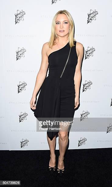 Actress Kate Hudson arrives at Stella McCartney Autumn 2016 Presentation at Amoeba Music on January 12 2016 in Los Angeles California