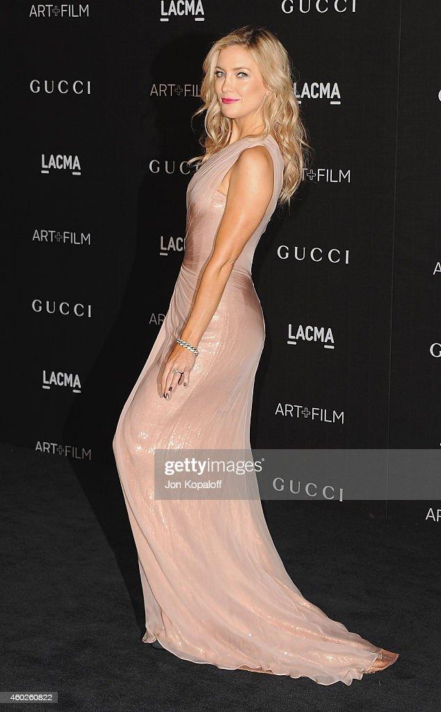 Actress Kate Hudson arrives at the 2014 LACMA Art + Film Gala Honoring Quentin Tarantino And Barbara Kruger at LACMA on November 1, 2014 in Los Angeles, California.