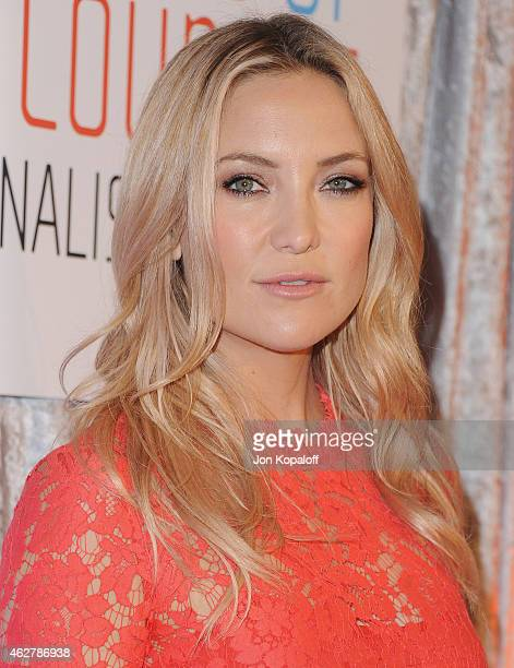 Actress Kate Hudson arrives at the 25th Annual IWMF Courage In Journalism Awards at The Beverly Hilton Hotel on October 28 2014 in Beverly Hills...