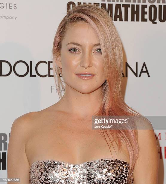 Actress Kate Hudson arrives at the 28th American Cinematheque Award Honoring Matthew McConaughey at The Beverly Hilton Hotel on October 21 2014 in...