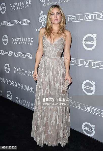 Actress Kate Hudson arrives at the 5th Annual Baby2Baby Gala at 3LABS on November 12 2016 in Culver City California