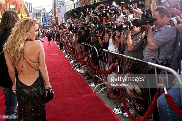 Actress Kate Hudson arrives at the premiere of 'Skeleton Key' at Universal Studios Cinema at Universal CityWalk on August 2 2005 in Universal City...