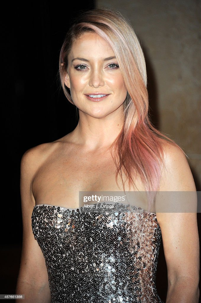 Actress Kate Hudson arrives for the 28th American Cinematheque Award Honoring Matthew McConaughey held at The Beverly Hilton Hotel on October 21, 2014 in Beverly Hills, California.