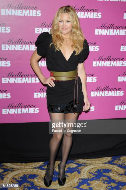 Actress Kate Hudson attends a photocall for 'Bride Wars' at Hotel George V on January 19 2009 in Paris