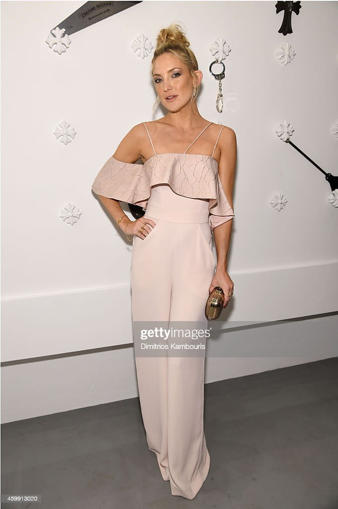 Actress Kate Hudson attends Chrome Hearts Celebrates The Miami Project During Art Basel With Zoe Kravitz at Miami Design District on December 3 2014...