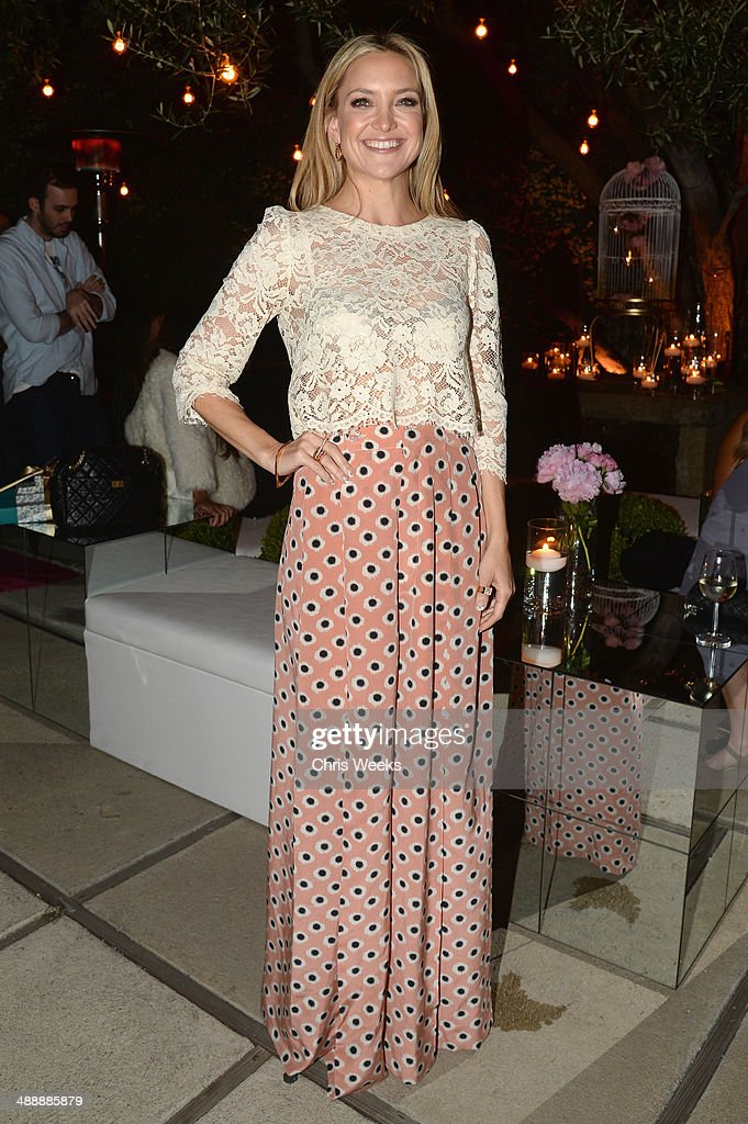Actress Kate Hudson attends Chrome Hearts & Kate Hudson Host Garden Party To Celebrate Collaboration at Chrome Hearts on May 8, 2014 in Los Angeles, California.