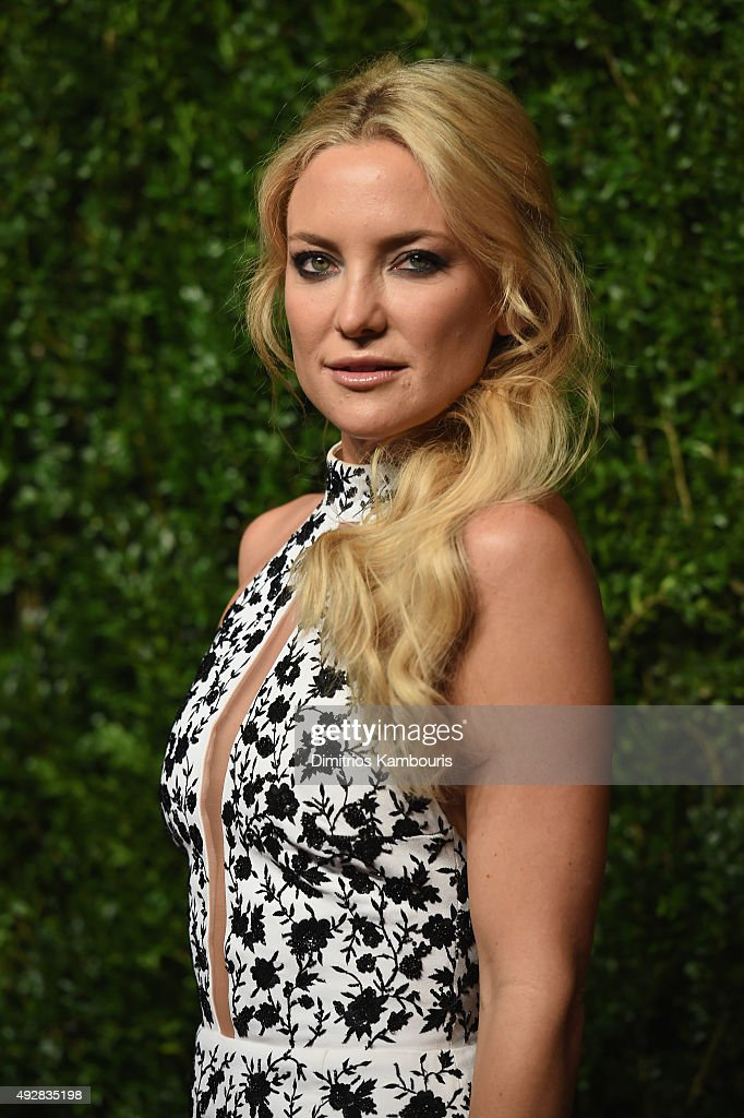 Actress Kate Hudson attends God's Love We Deliver Golden Heart Awards at Spring Studio on October 15 2015 in New York City