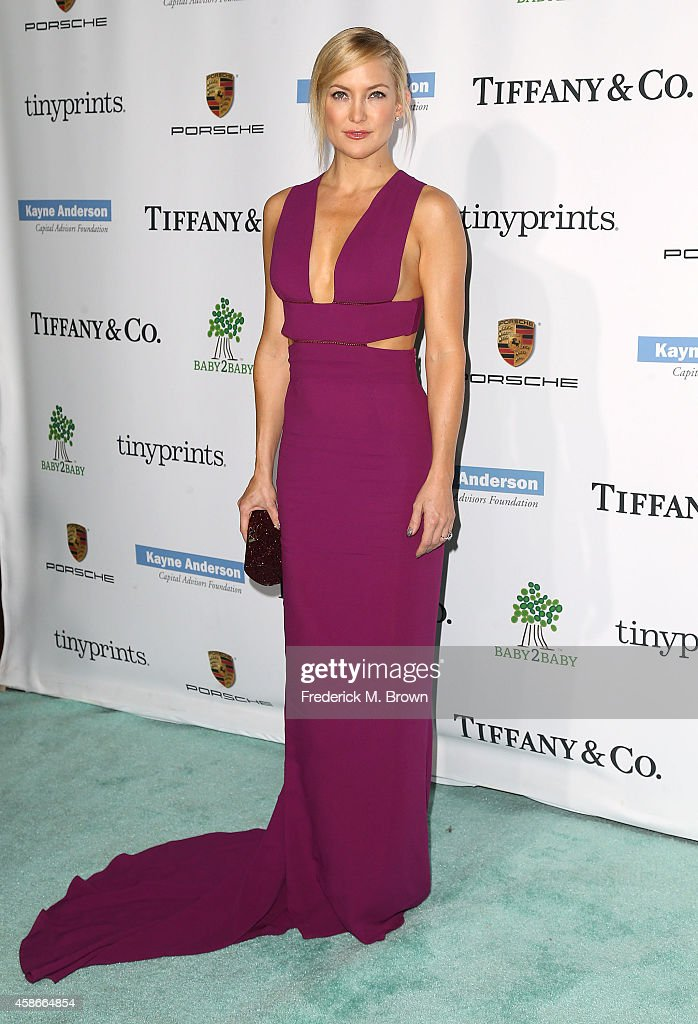 Actress <a gi-track='captionPersonalityLinkClicked' href=/galleries/search?phrase=Kate+Hudson&family=editorial&specificpeople=156407 ng-click='$event.stopPropagation()'>Kate Hudson</a> attends The 2014 Baby2Baby Gala, Presented by Tiffany & Co at The Book Bindery on November 8, 2014 in Culver City, California.