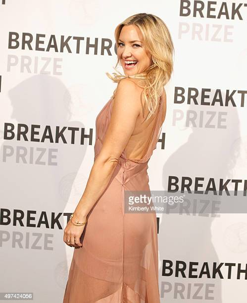 Actress Kate Hudson attends the 2016 Breakthrough Prize Ceremony on November 8 2015 in Mountain View California