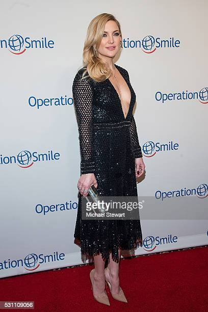 Actress Kate Hudson attends the 2016 Operation Smile Gala at Cipriani 42nd Street on May 12 2016 in New York City