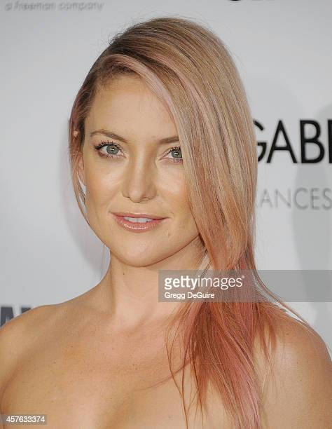 Actress Kate Hudson attends the 28th American Cinematheque Award honoring Matthew McConaughey at The Beverly Hilton Hotel on October 21 2014 in...