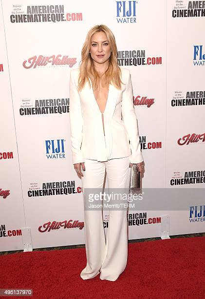 Actress Kate Hudson attends the 29th American Cinematheque Award honoring Reese Witherspoon at the Hyatt Regency Century Plaza on October 30 2015 in...