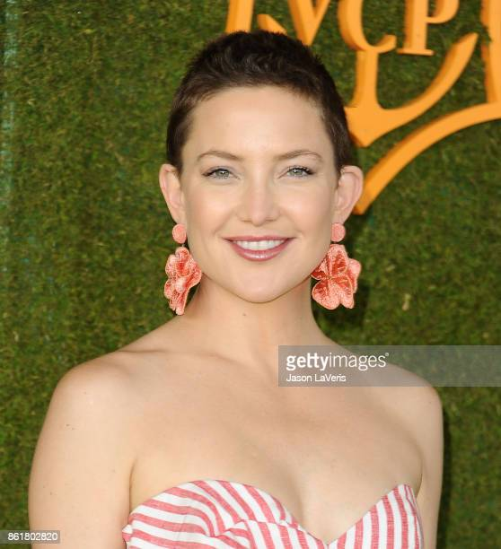Actress Kate Hudson attends the 8th annual Veuve Clicquot Polo Classic at Will Rogers State Historic Park on October 14 2017 in Pacific Palisades...