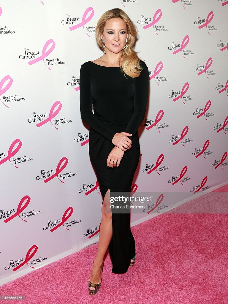 Actress <a gi-track='captionPersonalityLinkClicked' href=/galleries/search?phrase=Kate+Hudson&family=editorial&specificpeople=156407 ng-click='$event.stopPropagation()'>Kate Hudson</a> attends The Breast Cancer Research Foundation's 2013 Hot Pink Party at The Waldorf=Astoria on April 17, 2013 in New York City.
