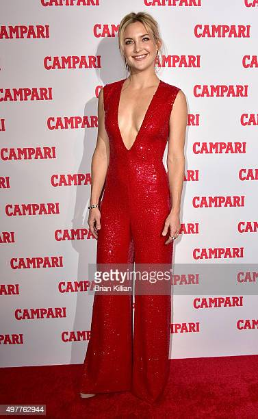Actress Kate Hudson attends the Campari Calendar 2016 Launch at The Standard Hotel on November 18 2015 in New York City
