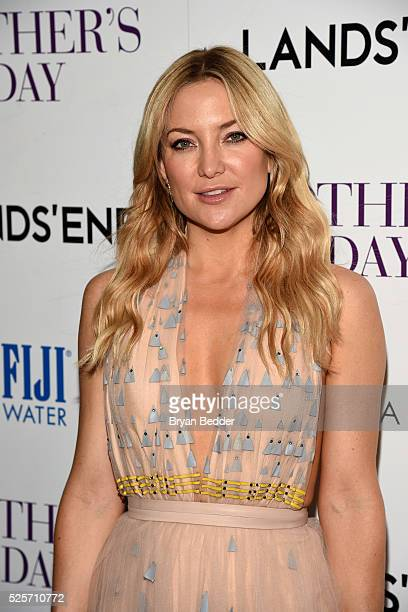 Actress Kate Hudson attends the Cinema Society with Lands' End FIJI Water host a screening of 'Mother's Day' on April 28 2016 in New York City
