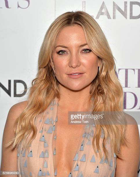 Actress Kate Hudson attends The Cinema Society with Lands' End host a screening of Open Road Films' 'Mother's Day' on April 28 2016 in New York City