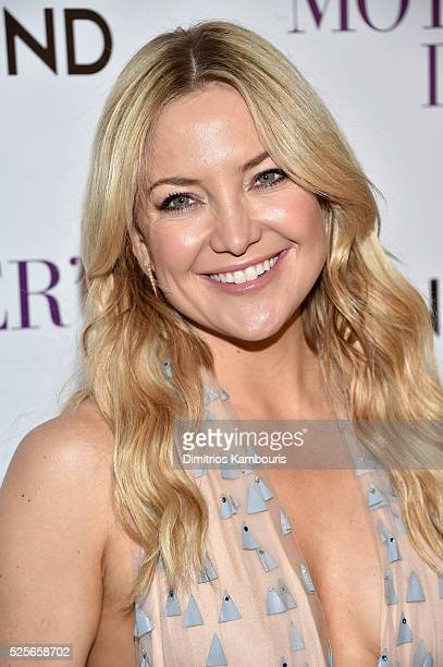 Actress Kate Hudson attends The Cinema Society with Lands' End screening of Open Road Films' 'Mother's Day' at Metrograph on April 28 2016 in New...
